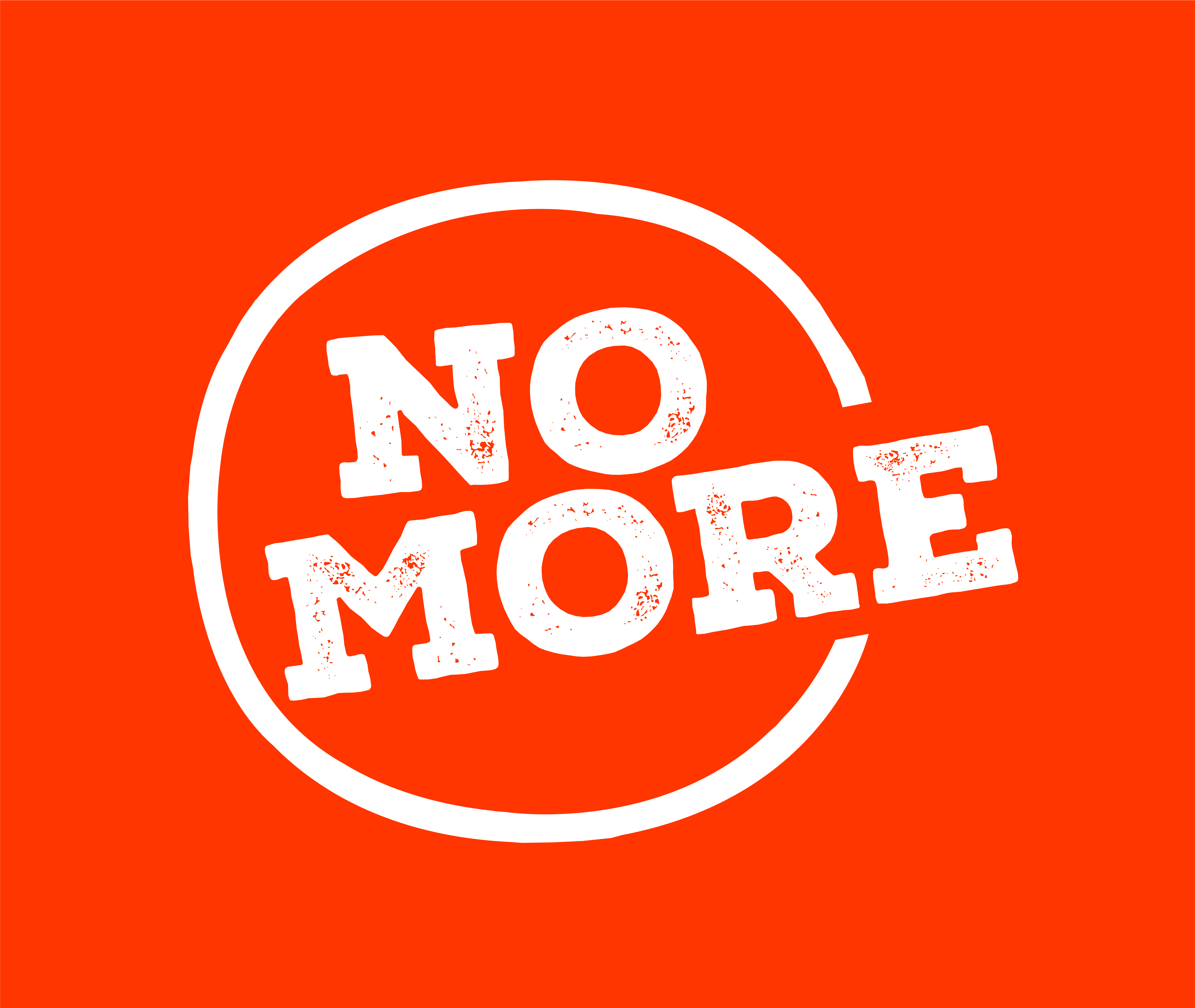 noMore-boxed-orange-highRes for polo shirts